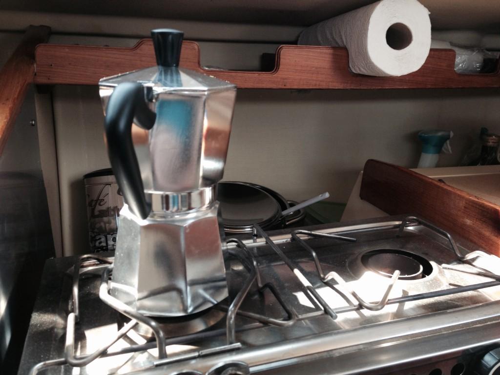 Bialetti Kaffee Kocher (wird auch Espressokanne genannt)