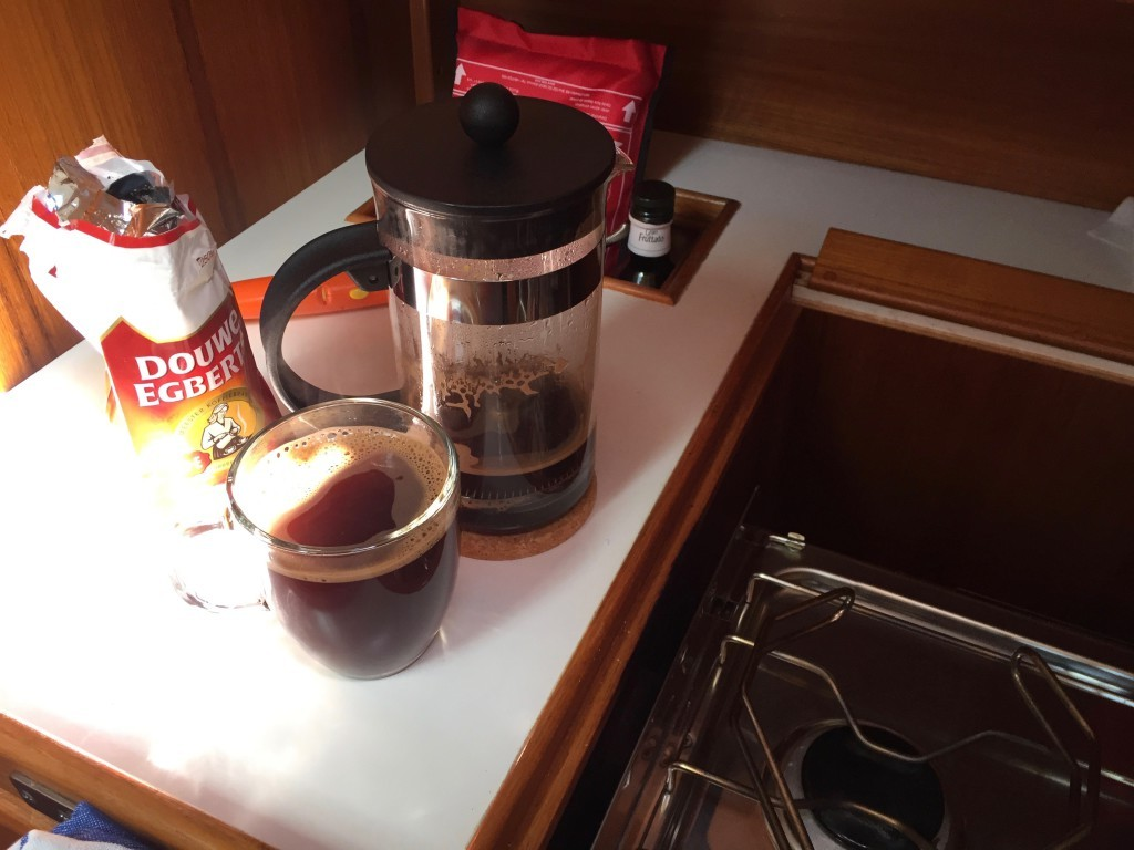 Misslungenes Experiment mit French-Press von Bodum.